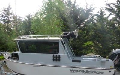 Rain Fly Custom Aluminum Boat Tower